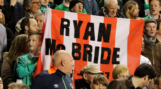 Remembered: Irish fans pay their respects to tragic Derry City skipper Ryan McBride