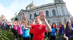 Youth Action Northern Ireland's Dance4Life community festival in Belfast - improving access to dance programmes in the community and unusual spaces.