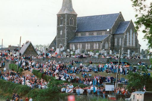The Drumcree stand-off in 1996