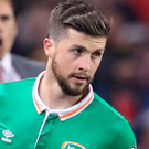 Comfort: Shane Long provided support for Seamus Coleman