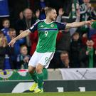 Conor Washington grabbed the other goal that helped sink Norway