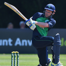 Personal goal: Ed Joyce would love to play Test cricket for Ireland