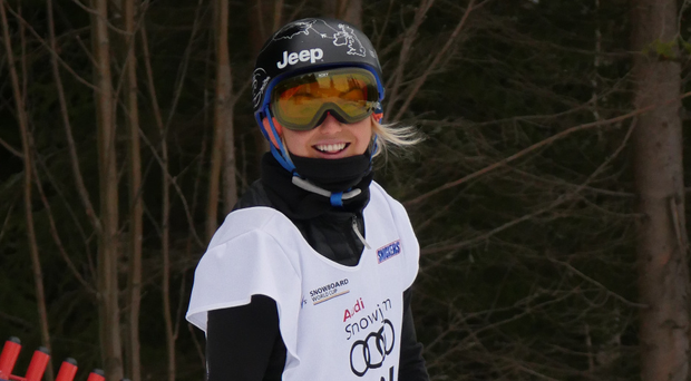I feel good: Aimee Fuller after her excellent fourth place