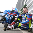 Seat of power: Michael Dunlop is determined to steer Suzuki to success at the TT