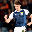 Bright future: Kieran Tierney was assured in new role