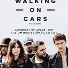 Walking on Cars announce Belfast gig