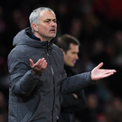 Elite level: Jose Mourinho is aiming to guide Man United into the Champions League