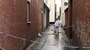 PACEMAKER BELFAST 29/03/2017 Police are investigating an incident in the Castlereagh Road area of east Belfast in the early hours of Wednesday 29th March. A 17 year old male was found in an alleyway between Castlereagh Parade and Glenvarlock Street with a number of serious injuries at around 1.30am. He was taken to hospital where his condition is described as critical.