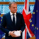 European Council President Donald Tusk. Pic PA wire.