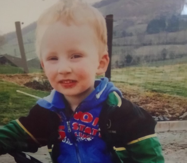 Ronan Kennedy was aged three years and ten months