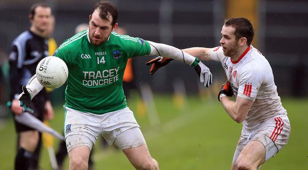 Lead role: Sean Quigley will shoulder the burden of spearheading Fermanagh's bid for safety
