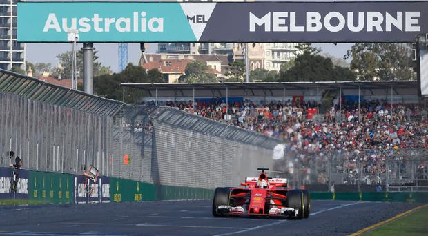 Vroom for improvement: No hairs raised as Sebastian Vettel wins in Melbourne