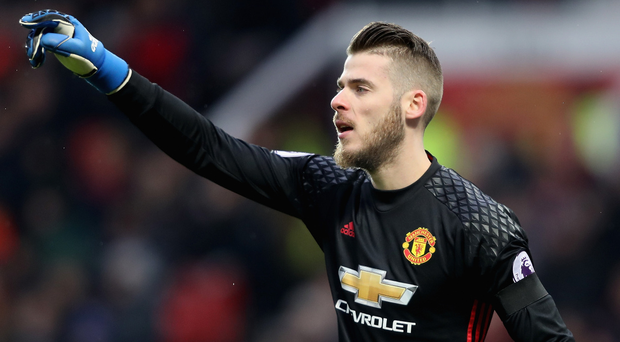 Direct route: Manchester United goalkeeper David De Gea is top of Real Madrid's wish list