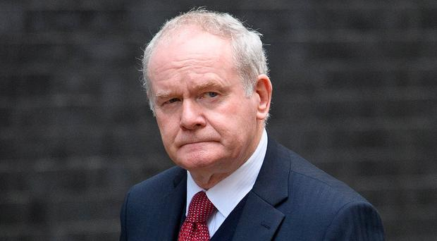 The late Martin McGuinness