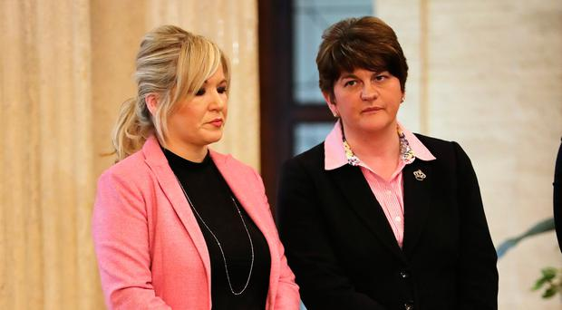 Sinn Fein's Michelle O'Neill and former First Minister Arlene Foster have little common ground