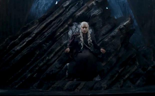 Daenerys Stormborn of the House Targaryen, First of Her Name, the Unburnt, Queen of the Andals and the First Men, Khaleesi of the Great Grass Sea, Breaker of Chains, and Mother of Dragons features in the new trailer