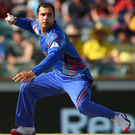Sizzling form: Mohammad Nabi of Afghanistan took six wickets in Ireland's second innings