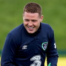 Setback: James McCarthy missed Republic's qualifier