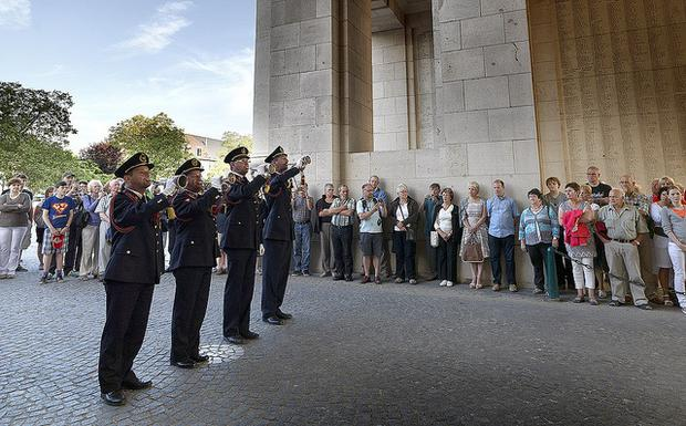 Last Post at the Menin Gate. Image: Milo Profi