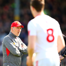 Tough times: Mickey Harte's Tyrone are going through a losing streak
