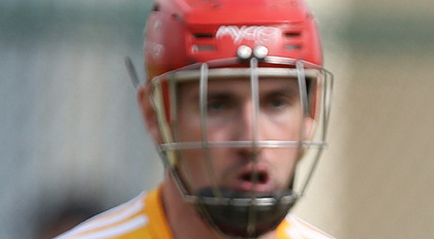 Vision: Simon MacRory is hoping to inspire youngsters