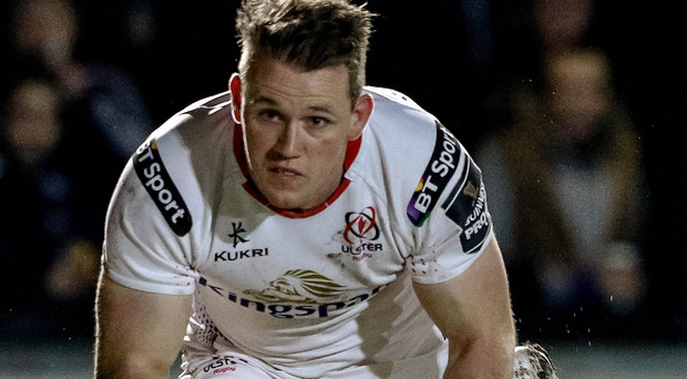 Nice try: Craig Gilroy is keen to maintain his scoring form and help Ulster into the PRO12 play-offs