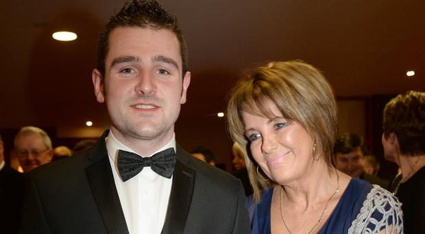 Michael Dunlop and his mum Louise
