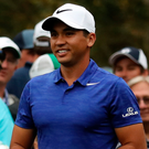 Battling on: Jason Day has had a difficult few weeks off the course