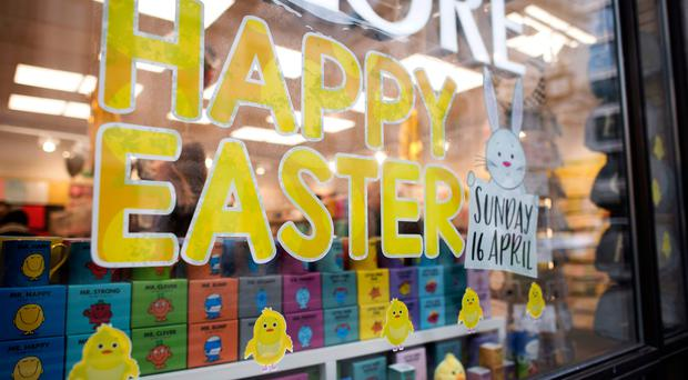 Churches are concerned that retailers are playing down the true meaning of Easter