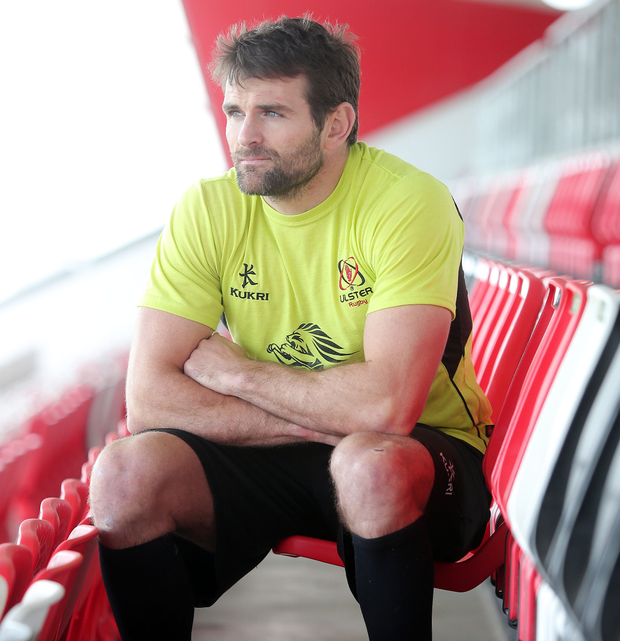 Back with a bang: New Zealander Jared Payne warns that final games of PRO12 season must be won to secure play-offs. Photo: Jonathan Porter/PressEye
