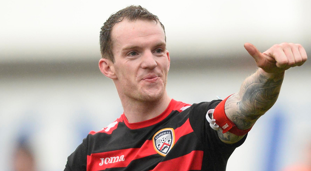 David Kee is focusing on firing Coleraine into Europe. Photo: Mark Marlow/Pacemaker Press