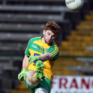 Making a point: Lorcan Connor was a key figure for Donegal. Photo: John McVitty/Presseye