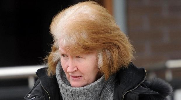 Caroline Baker outside court in 2014. Pic Pacemaker