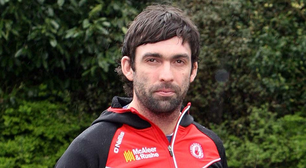 Keeping the faith: Joe McMahon is determined to wear the Tyrone jersey once again after two years of injury hell, but he admits he may have to call time on his inter-county career if his body won't allow him to do so.Photo: Freddie Parkinson/PressEye
