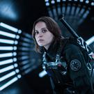 Felicity Jones as Jyn Erso. Photo: PA Photo/Lucasfilm