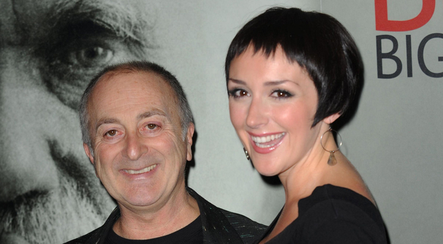 LOVING: Tony Robinson and his wife Louise