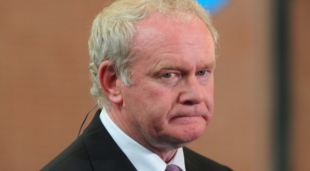 Martin McGuinness, who died last month, was the subject of a police file on his alleged involvement in the IRA