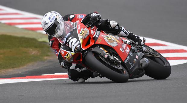 Super prospect: Glenn Irwin is set to race the Ducati Superbike at the 2017 Vauxhall International North West 200