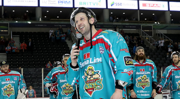 Endgame: Giants' player-coach Derrick Walser is contemplating his future following defeat to the Sheffield Steelers