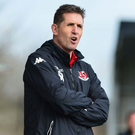 Run-in struggle: Crusaders manager Stephen Baxter