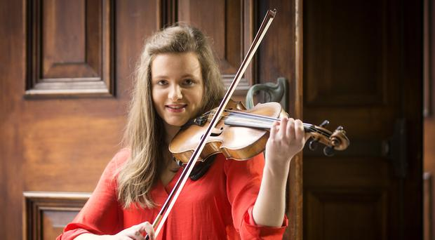 Exceptional violinist, Susanna Griffin, from Belfast, has been announced as the new Leader of the Ulster Youth Orchestra (Picture by Brian Morrison)