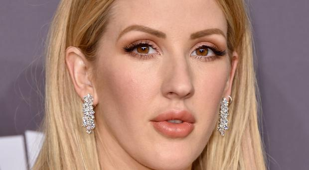 Exercise fan: Singer Ellie Goulding