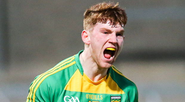 Roaring success: Lorcan Connors hails Donegal's win