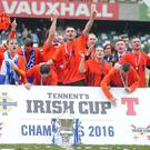 Glenavon are the current holders of the cup. Picture by Jonathan Porter/PressEye