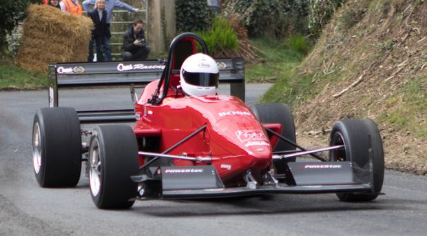 Revved up: Fastest Ulsterman at Craigantlet last year, NI champion Chris Houston