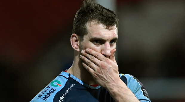 Injury blow: Sam Warburton is expected be out for six weeks. Photo: Stu Forster/Getty Images