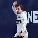 Fer go: Fernando Alonso will take on Indianapolis 500 challenge