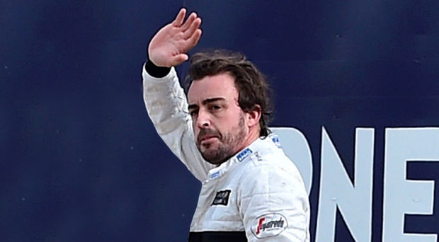F1 driver Fernando Alonso preparing for Indy 500