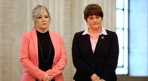 Sinn Fein's Michelle O'Neill and the DUP's Arlene Foster will need to compromise