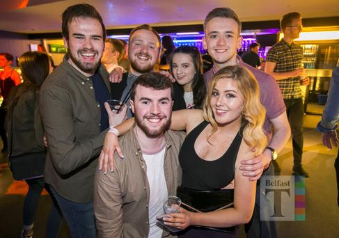 People out at Bot Wednesdays. 12th April 2017. Liam McBurney/RAZORPIX